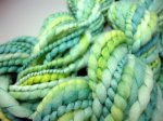 Green Smooshy Handspun