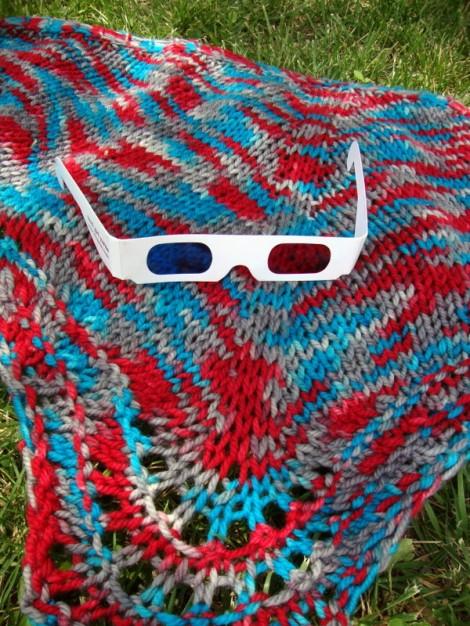 3D Yarn from Nerd Girl Yarns